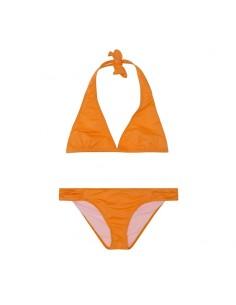 Top halter Naranja flúor